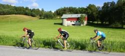 Sykle i Strandvik